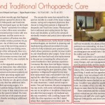 Beyond Traditional Orthopaedic Care 2