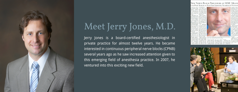 1 – Dr. Jerry Jones
