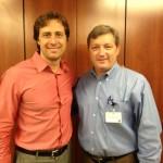 Jerry Jones, M.D. with PRMC CEO Stephen Grubbs